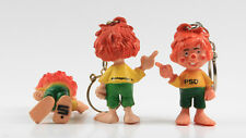 Pumuky === 3 x figuras publicidad werbefiguren libro agencia/PSD/Caja de Ahorros