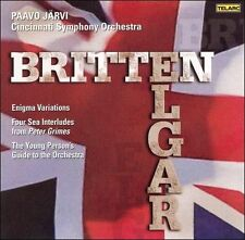 Britten: The Young Person's Guide to the Orchestra / Four Sea Interludes / Elgar