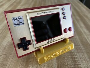 Nintendo Game and Watch Stand -  Super Mario Bros Electronic Handheld Custom