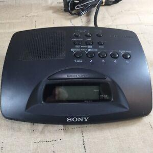 Sony ICF-C233 Dream Machine AM/FM Digital Clock Radio w/ Snooze Tested [LV08]