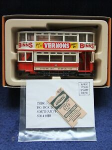 Corgi Tram 1:76 Scale - various liveries available BOXED