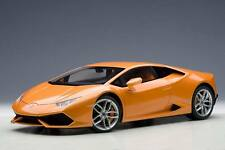 LAMBORGHINI HURACAN LP610-4 METALLIC ORANGE 1:12  MODEL CAR BY AUTOART 12098