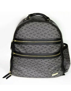 New Skip Hop Travel Diaper Bag Backpack Forma Multi-Function Baby Jet Black $75