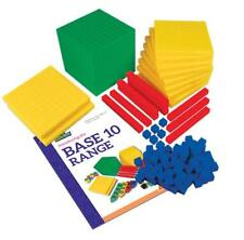 MAB Base Ten Maths Blocks Student Pack 123 Pieces Teacher Resource Primary Kids