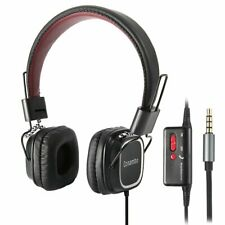 Active Noise Cancelling Headphones, Wired Foldable ANC Headphones w/Mic for iPho