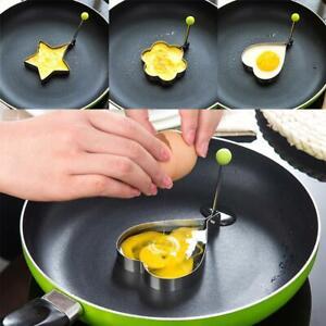 Kitchen Tools 1 Stück Rostfreiem Stahl Spiegelei-Modell Aus Verdicktes Omelett
