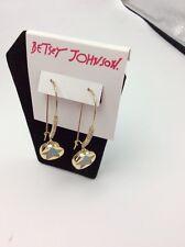 $35 Betsey Johnson Confetti Blue Shakey Star Earring B-112