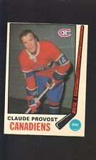 1969-70 O-PEE-CHEE CLAUDE PROVOST #167 NM-MT CANADIENS
