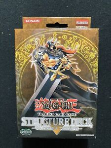 Yugioh! 1st Edition Warrior's Triumph Structure Deck Factory Sealed