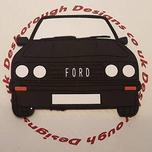 Ford MK2 Escort Rs 2000 Large Fridge Tool Box Magnet Coaster Black