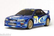 Tamiya 58631 1/10 EP RC Car TT02 Chassis Subaru Impreza STi WRC 99 GC8 w/ESC