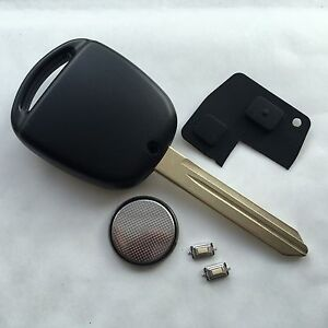 for Toyota Avensis Corolla 2 button remote key repair kit switches buttons Toy47