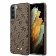 Guess 4g Étui Braun pour Samsung Galaxy S21 Plus G996b