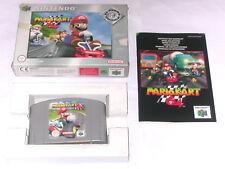 "Spiel: MARIO KART 64 "" KOMPLETT OVP + ANLEITUNG N64 Nintendo 64"