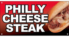 2X4 ft Vinyl Banner Sandwich Food Sign New - PHILLY CHEESE STEAK