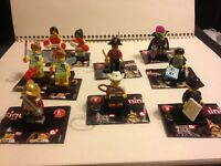 Lego Minifigures Series 8 Choice Conquistador Cowgirl Fairy Pirate Alien +MORE!