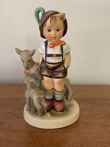 """Vintage Hummel Goebel """"Little goat herder"""" figurine, TM3, 1960s"""