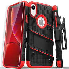 ZIZO Bolt Series for iPhone XR Case Military Grade Drop Tested with Tempered Gla
