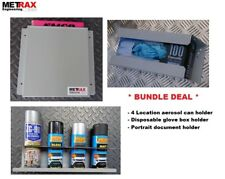 Van Storage Glove Box, Aerosol Can & Document holder - Plumber Gift  Present