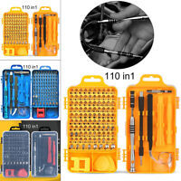 110In1 Screwdriver Set Magnetic Screwdriver Bit Torx Pone Computer Repair Tool