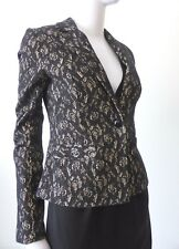 REVIEW  rrp $269.95  Size 8 or US 4 Long Sleeve Lace Jacket
