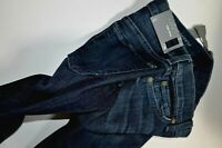 NEW ladies 7 for all mankind gwenevere leg zip SKINNY JEANS size 24  uk 6 womens