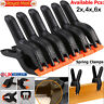 2,4,6 Pcs Spring Clamps - Heavy Duty Plastic Vice Grips - Quick Grip Clips
