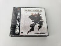 Final Fantasy Anthology Black Label - (Sony PlayStation) PS1 - NO DISCS