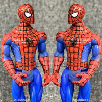 2 PCS Marvel Legends Universe The Amazing Spider-man 3.75'' Action Figures Toys