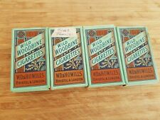 Wills Woodbines 4 Empty Packets