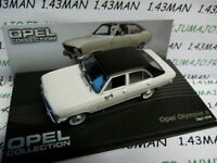 OPE110R voiture 1/43 IXO eagle moss OPEL collection : OLYMPIA A 1967/1970