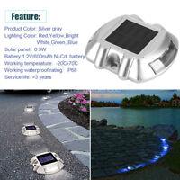 Solar Power LED Dock Light Solar Lights Step Road Driveway Path Ground Lights