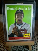 2019 Topps Archives Ronald Acuna Jr SP  #100 - Braves