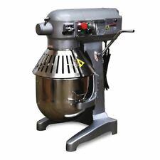 3 Speed 20qt Commercial Dough Food Mixer Gear Driven Pizza Bakery 750w New