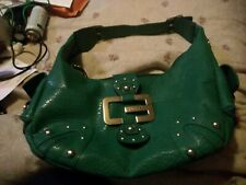 Guess handbag green in great condition