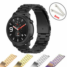 20mm 22mm Stainless Steel Metal Galaxy Band for Samsung Galaxy Watch3 Active2 3