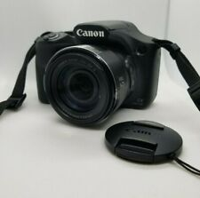 Canon PowerShot SX540 HS 20.3MP Digital Camera Black - W/ SD Card + Neck Strap