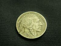 1920-D full Horn XF Details with rim gouge Buffalo Indian Nickel  free shipping