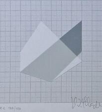 H.D. SCHRADER 1985 HAND SIGNED NUMBERED  LITHOGRAPH GERMAN Artist
