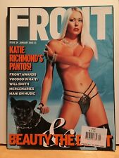 KATIE RICHMOND - FRONT Magazine January 2002 - BRAND NEW - Calendar Intact
