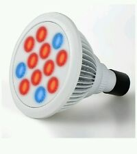 Firlar Hydroponic LED Grow Light E27 High Efficient Growing Lamp (3 Blue 9 Red
