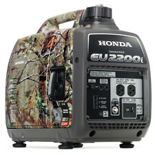 Honda EU2200i-CAMO 2200-Watts 121cc Recoil Start Portable Generator - Camouflage