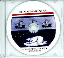 USS Robert E Peary DE 1073 Commissioning Program 1972 United States Navy