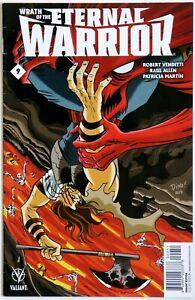 Wrath of the Eternal Warrior #9 Variant B - Valiant - Robert Venditti - R Allen
