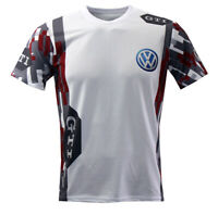 Volkswagen VW Sublimation Print T-shirt Maglietta Camiseta GOLF Polo GTI Racing