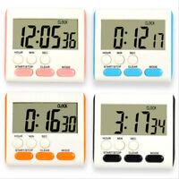 LCD Digital Kurzzeitmesser Küchenuhr Kurzzeitwecker Eieruhr Timer Küche Farben
