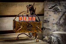 STEAMPUNK Z573M Handmade NIXIE CLOCK LeatherLab || Z568M IN-18 || TRANSFORMERS