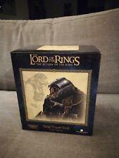 Herr der Ringe Lord of the Rings Figur Büste Sideshow SiegeTower Troll limitiert
