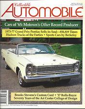 Collectible Automobile Magazine August 2000 Vol 17 - No 2