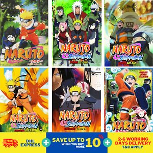 Anime DVD Naruto Shippuden Episode 1-720 + 11 Movies Complete Collection Box Set